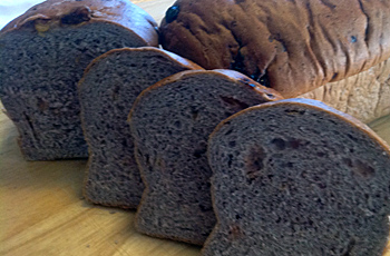 Sweet Purple Wheat Bread